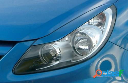 Pestañas focos delanteros Opel Corsa D 9/06- (ABS)