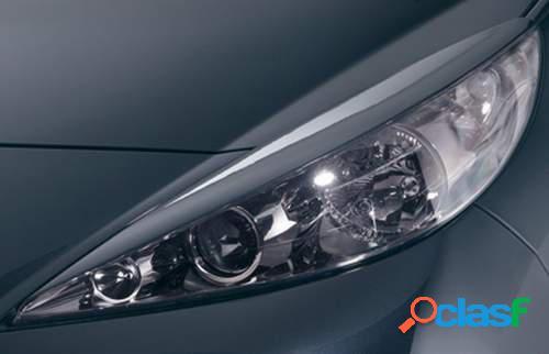 Pestañas focos delanteros Peugeot 207 06- (ABS)