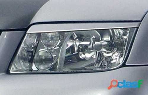 Pestañas focos delanteros VW Bora (ABS)