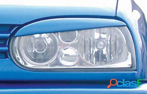 Pestañas focos delanteros VW Golf III (ABS)