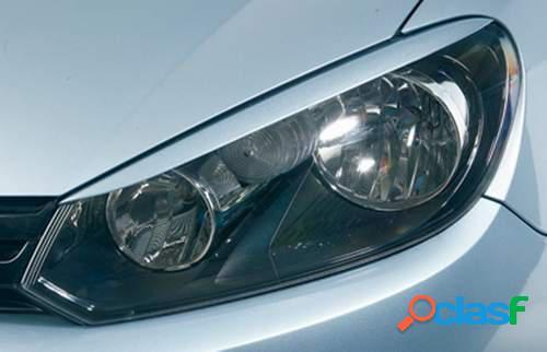 Pestañas focos delanteros VW Golf VI 10/08- (ABS)