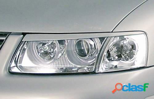 Pestañas focos delanteros VW Passat 3B 96-00 (ABS)