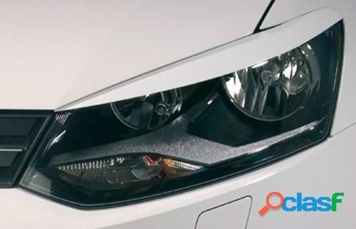 Pestañas focos delanteros VW Polo 6R 6/09- (ABS)