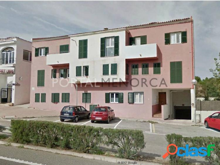 Piso de planta baja con patio en Es Mercadal, Menorca.