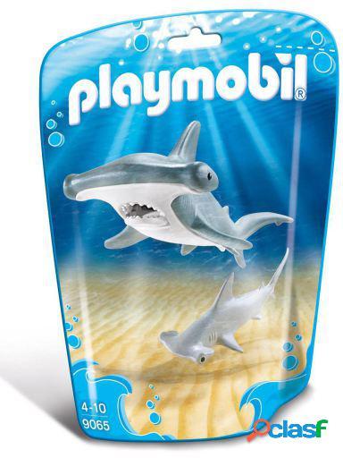 Playmobil Animales Tiburón Y Pez Martillo
