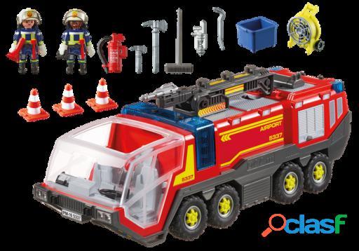 Playmobil Camión Bomberos Aeropuerto 5337