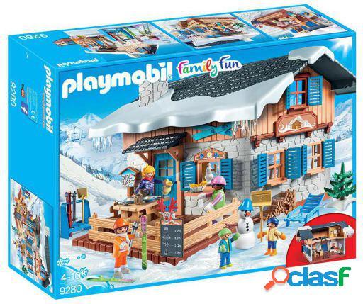 Playmobil Family Cabaña De Esquí