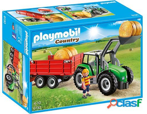 Playmobil Gran Tractor Con Remolque 6130