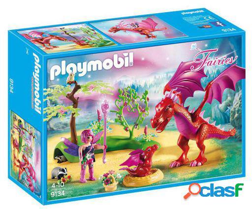 Playmobil Hadas Dragón Con Bebé