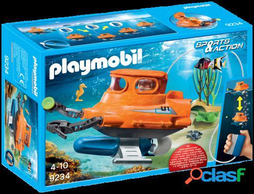 Playmobil Submarino con Motor Submarino 9234