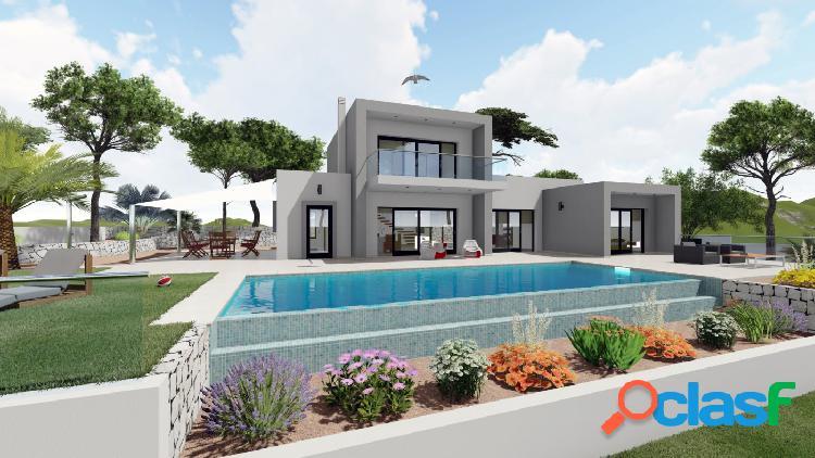Proyecto: Preciosa villa de estilo moderno en Benissa con