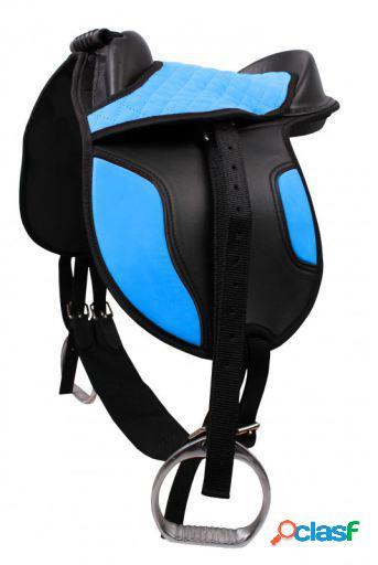 QHP Shetland Saddle Azul
