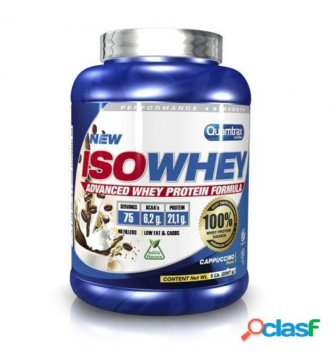 Quamtrax Nutrition Iso Whey 2270 gr Capuccino