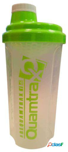 Quamtrax Nutrition Skaker Classic Green Transparent 500 ml