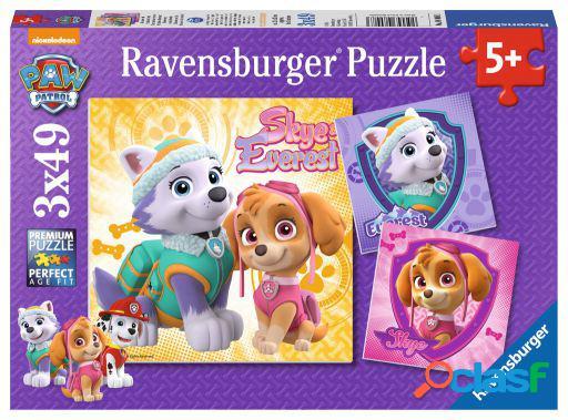 Ravensburger 3X49 Piezas Cachorros Fascinantes Paw Patrol