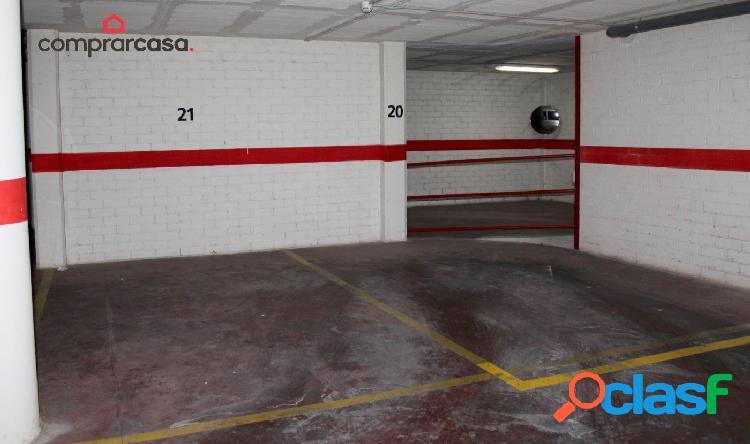 SE ALQUILA PLAZA DE PARKING EN C/ RIU EBRE (CAPPONT)
