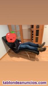 Se vende sofá individual de piel