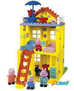 Simba Juego de construcción la nueva casa de peppa pig