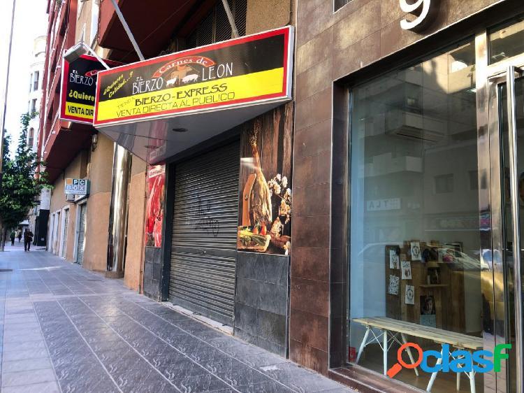 ¿Te imaginas abrir tu negocio en una de las calles más