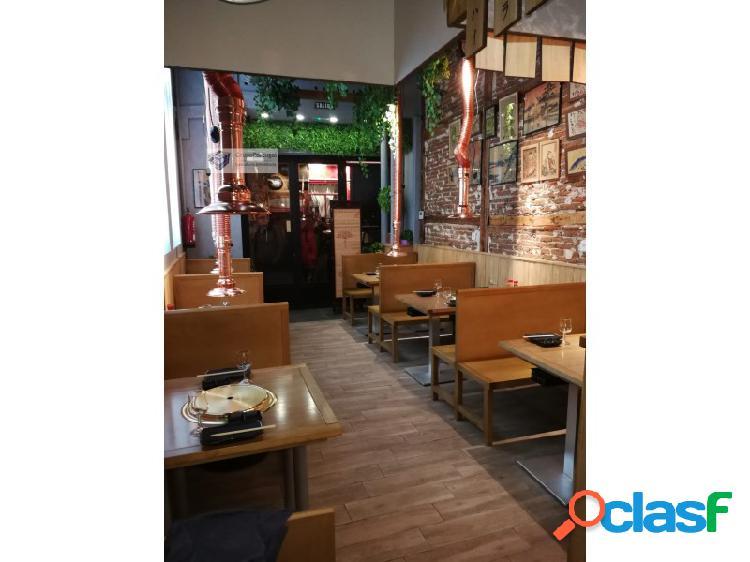 Traspaso Bar Restaurante 200m² en zona Centro