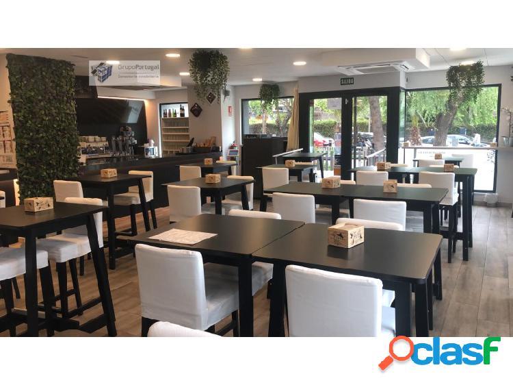 Traspaso Bar Restaurante de 160m² con Terraza en Chamartin