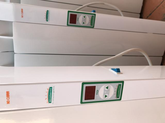 Vendo 5 radiadores electricos de bajo consumo