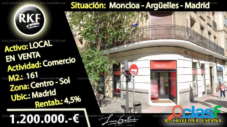 Venta Local comercial - Argüelles, Moncloa, Madrid