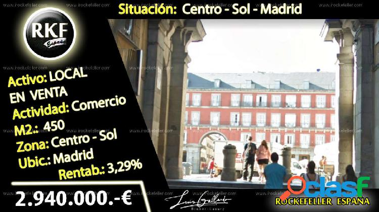 Venta Local comercial - Sol, Centro, Madrid [230189/Local