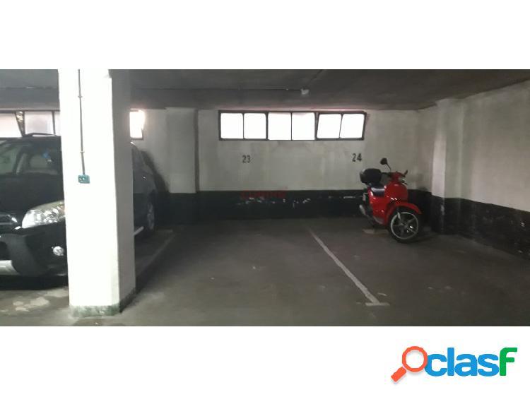 Venta de dos plazas de garajes.