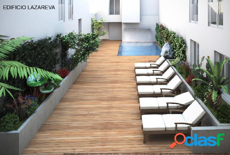 Apartamento de 3 dormitorios con piscina comunitaria, a 70m