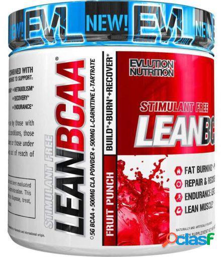 Evlution Nutrition Lean BCAA stimulant free fruit punch 237