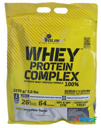 Olimp Nutrition Whey Protein Complex 100% con 2270 gr Fresa