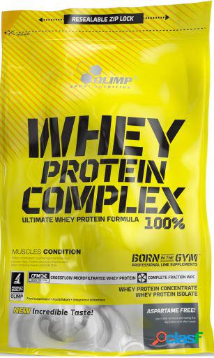 Olimp Nutrition Whey Protein Complex 100% con 700 gr Fresa