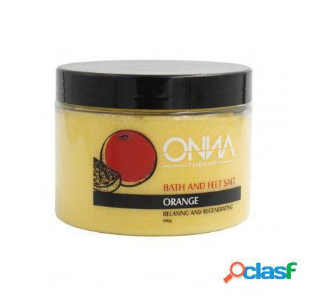 Onna Therapy Bath And Feet Salt Orange 600 gr