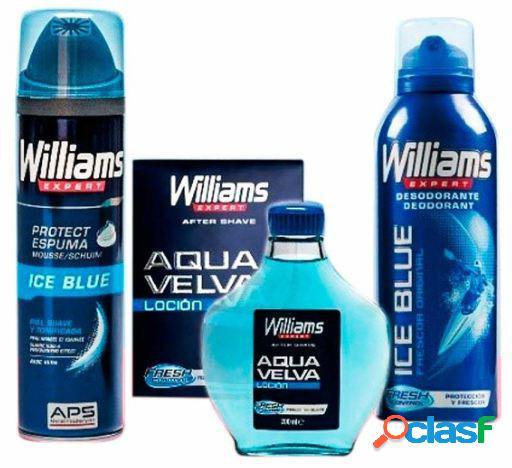 Williams Ice Blue Lote 3 Piezas