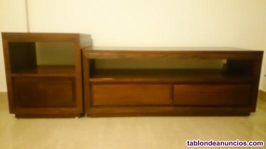 Mueble de dos piezas