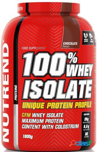 Nutrend 100% Whey Isolate Chocolate 1800 gr