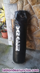 Saco de boxeo van allen con relleno para colgar