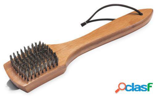 Weber Cepillo metálico pequeño con mango de madera 6463