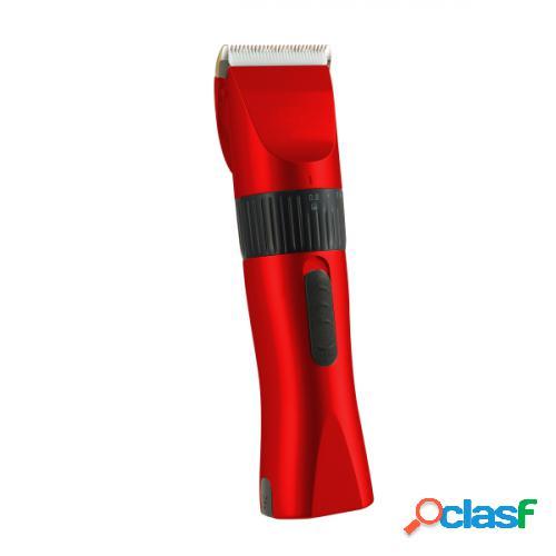 Albi Maquina Cortar Pelo Rojo 2 baterías