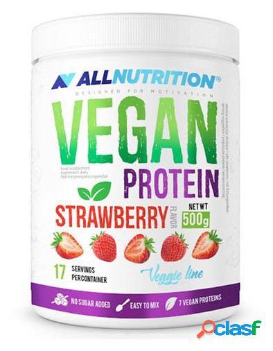 Allnutrition Proteína Vegana Fresa 500 gr