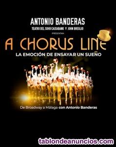 Entradas antonio banderas - a chorus line (5 de
