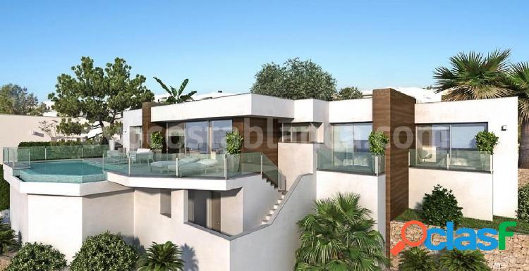 Exclusiva villa de diseño moderno