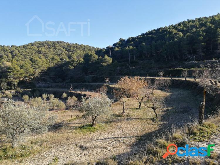 Finca rústica en la montaña de Alicante con magníficas