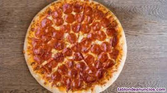 Pizzero sin experiencia
