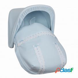 Saco Porta bebé Classic Celeste (capota no incluida)