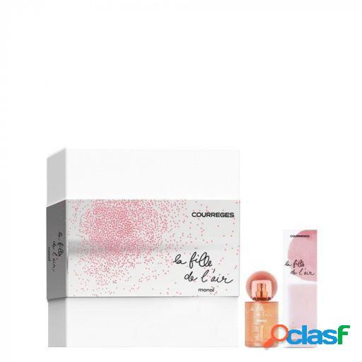 Courrèges La Fille de L'Air Monoi Eau Parfum 50 ml + Eau