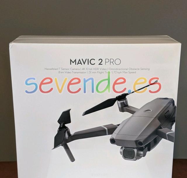 NUEVO DJI Mavic 2 Pro Drone Quadcopter Hassel