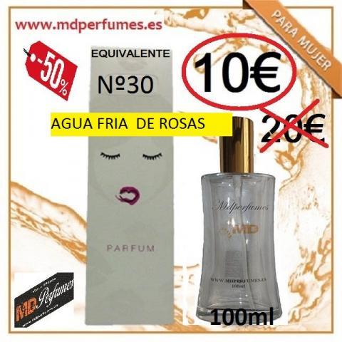 Perfume Mujer Equivalente altas gama Nº30 AGUA FRIA DE