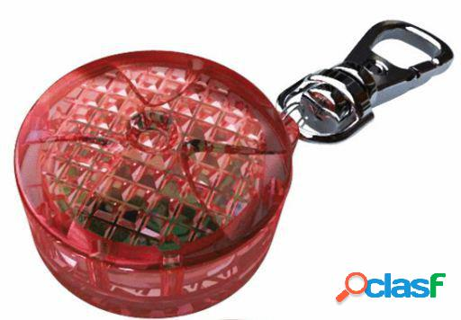 Trixie Flasher para perros/gatos, 2.5 cm, Rojo